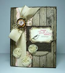 perry papercrafts shabby birthday wishes