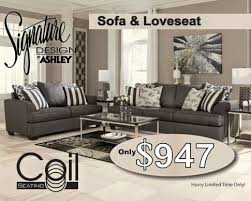 Sofa At Ashley Furniture Ashley Furniture Billy Bobs Beds And Mattresses