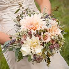 rustic wedding bouquets brides rustic dahlia and wedding bouquet a rustic