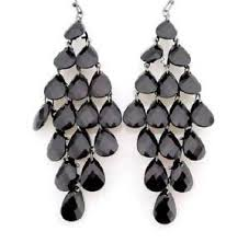 black chandelier earrings chandelier earrings ebay