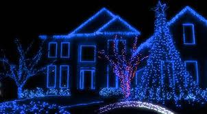 blue christmas blue christmas lights great way to celebrate christmas light