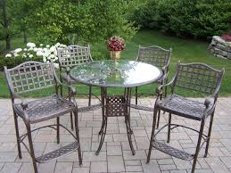 Bar Set Outdoor Patio Furniture - easy care aluminum patio furniture outdoor patio ideas