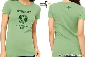 planet clothing save the planet its the only one with womens t shirt