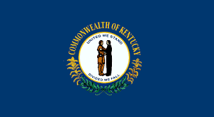 kentucky flag map statemaster statistics on kentucky facts and figures stats and