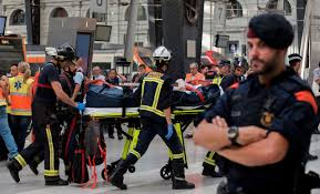 Long Journey How Commuters Cope by Dozens Injured In Barcelona Commuter Train Crash