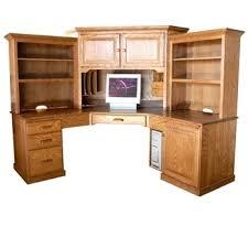 Solid Wood Corner Desk Desk Solid Wood Corner Desk With Hutch Solid Wood Corner