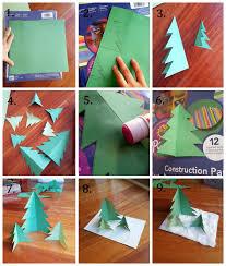 diy paper christmas trees la vie en may petite fashionista