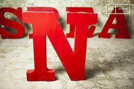 metal letters industrial furniture pib