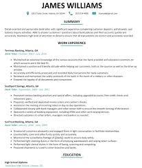 sle resumes for banking resume bank teller etame mibawa co