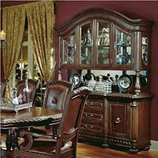 amazon com steve silver antoniette buffet u0026 hutch china cabinets