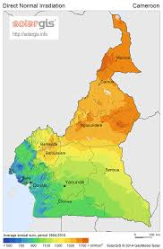 map of cameroon free solar resource maps solargis