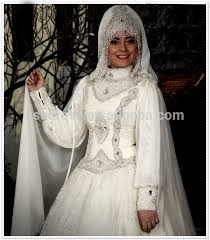 gorgeous latest design long sleeve beading dubai lace bridal hijab