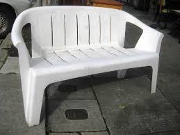 White Plastic Patio Chairs How To Clean White Patio Furniture Free Home Decor
