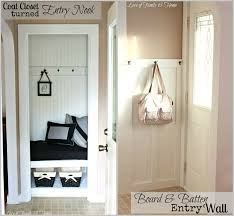 Small Entry Ideas 26 Best Foyer Closets Images On Pinterest Entryway Closet Front