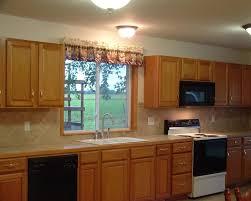 oak cabinets with granite tile backsplash ideas with oak cabinets tile designs