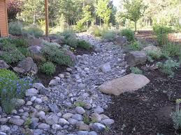 pebble gardens dry creek bed garden dry creek garden garden