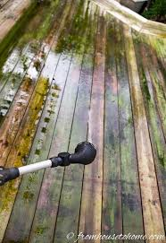 the best inexpensive and non toxic diy deck cleaner hometalk