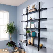 Build Wooden Bookcase by Simple Bookcase Plans Family Handyman