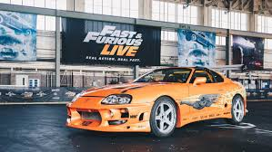 toyota supra fast and furious fast and furious live the 25m live stunt arena show is here