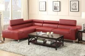 bonded leather sectional sofa burgundy bonded leather sectional sofa f7300 buy 4 less furniture