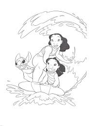 lilo and stitch coloring pages stitch and doll coloringstar