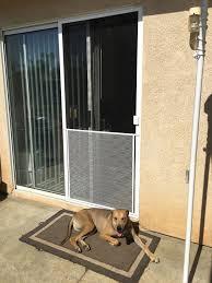 Vinyl Pet Patio Door Exterior Door With Built In Pet Lowes Large For Sliding Glass