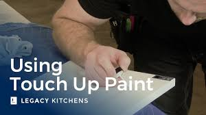 high gloss white kitchen cabinet touch up paint using touch up paint to repair minor cabinet scratches