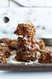 coconut no bake cookies minimalist baker recipes