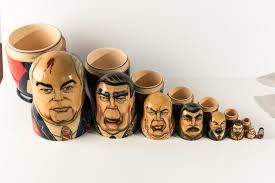 decorating enticing russian nesting doll for interior display