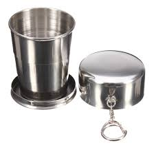 popular collapsible steel cup buy cheap collapsible steel cup lots
