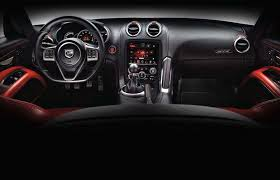 2016 dodge viper 2016 dodge viper roadster interior mustcars com