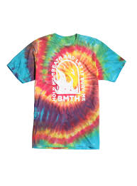Tie Dye Halloween Shirts by The 1975 Logo Tie Dye T Shirt Topic