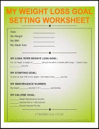 goals planner template my weight loss goal setting worksheet free pdf download my my weight loss goal setting worksheet free pdf download my 17dd blog