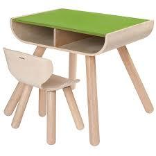 Kleiner Schreibtisch Holz Plantoys Schreibtisch U0026 Stuhl Grün Online Kaufen Emil U0026 Paula Kids