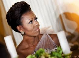 ms obamas hair new cut michelle obama s hair questioned after jeopardy spot ny daily news