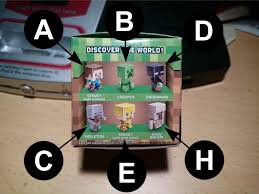 Minecraft Blinds Minecraft Mini Figures U2013 Series 1 Blind Box Codes Hazthemcman