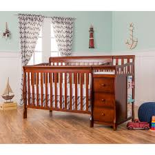 Convertible Crib To Twin Bed by On Me Brody 5 In 1 Convertible Crib With Changer