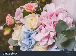 floral decorations design wedding childrens stock photo