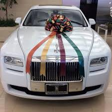 His And Her Wedding Gifts Salman Khan Gifts His Sister Arpita A Rolls Royce Ghost On Her