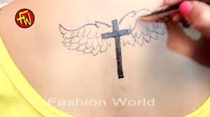 birds wing tattoos small cross tattoos for