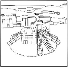 printable minecraft spider coloring pages elijah