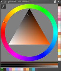 advanced color selector krita documentation