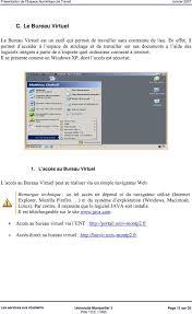 bureau virtuel paca e n t espace numérique de travail pdf