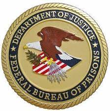 federal bureau of justice department of justice federal bureau of prisons seal plaque state