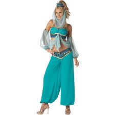 princess jasmine halloween harems jewel womans belly dance costume princess jasmine