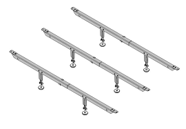 Adjustable Center Leg Bed Frame Support Mightylift Ultra Qpu 11 Heavy Duty Mattress Center Support System