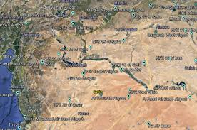 Syria On A Map by Drone Maker Dji Quietly Made Large Chunks Of Iraq Syria No Fly