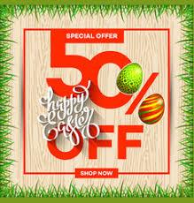 easter egg sale easter egg sale banner background template 10 vector image