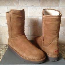 womens shearling boots size 11 ugg collection abree bruno fully lined suede boots womens size 11