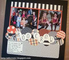 Scrapbook Inserts 101 Best Halloween Scrapbooking Images On Pinterest Halloween
